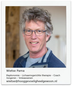 Wietse Pama, coach bij hooggevoelig heel gewoon