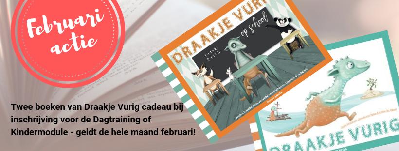 Februari Actie Draakje vurig 2