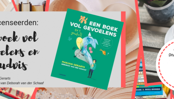 Boekrecensie 'Een boek vol gevoelens en 1 goudvis'