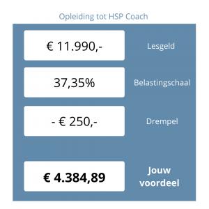 opleiding HSP coach financiering